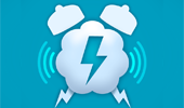 App: Alarming Weather—Sound Effects Alarm Clock